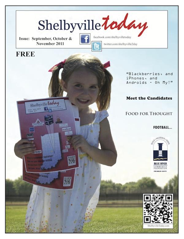 Sep/Oct/Nov Magazine Cover for ShelbyvilleToday Magazine