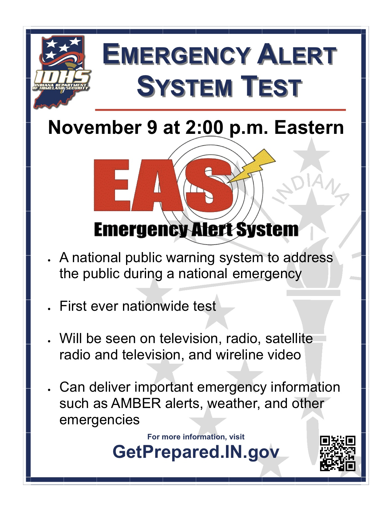 EAS National Test Flier