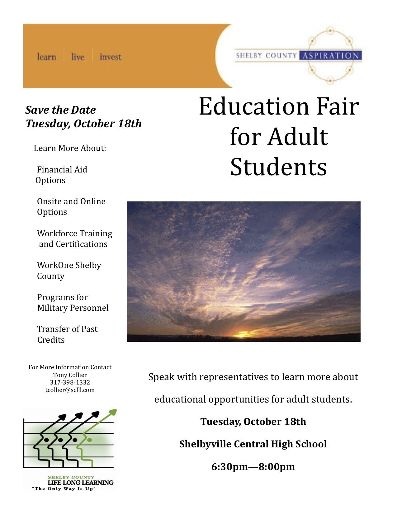 Shelby County Education Fair Flier