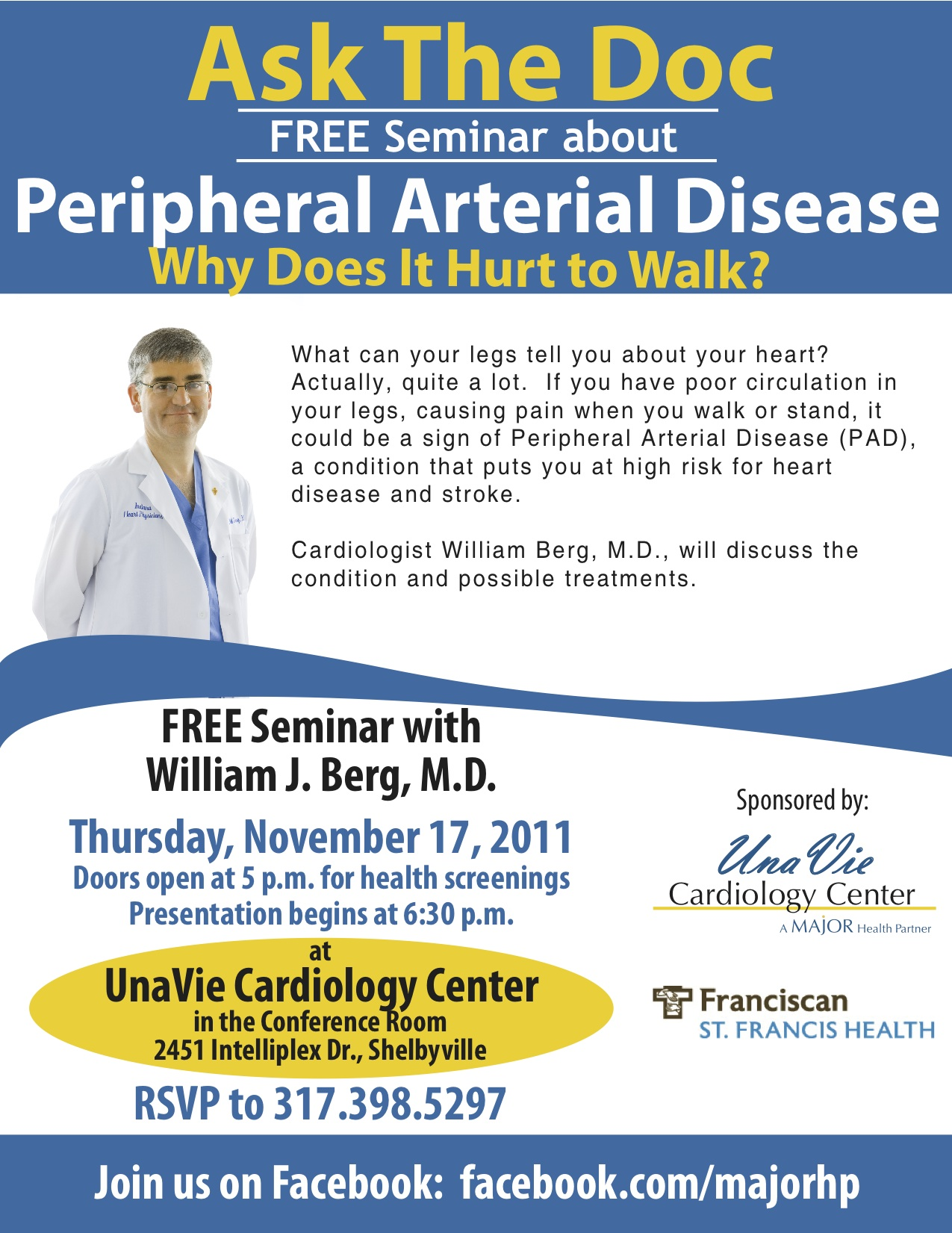 Ask the doc flier 11-11 Dr. Berg