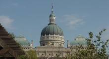 Indiana Statehouse Photo