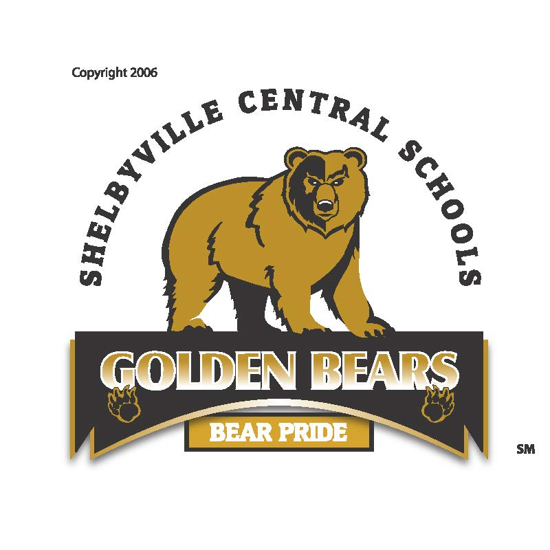 Shelbyville Central Schools Golden Bears Logo