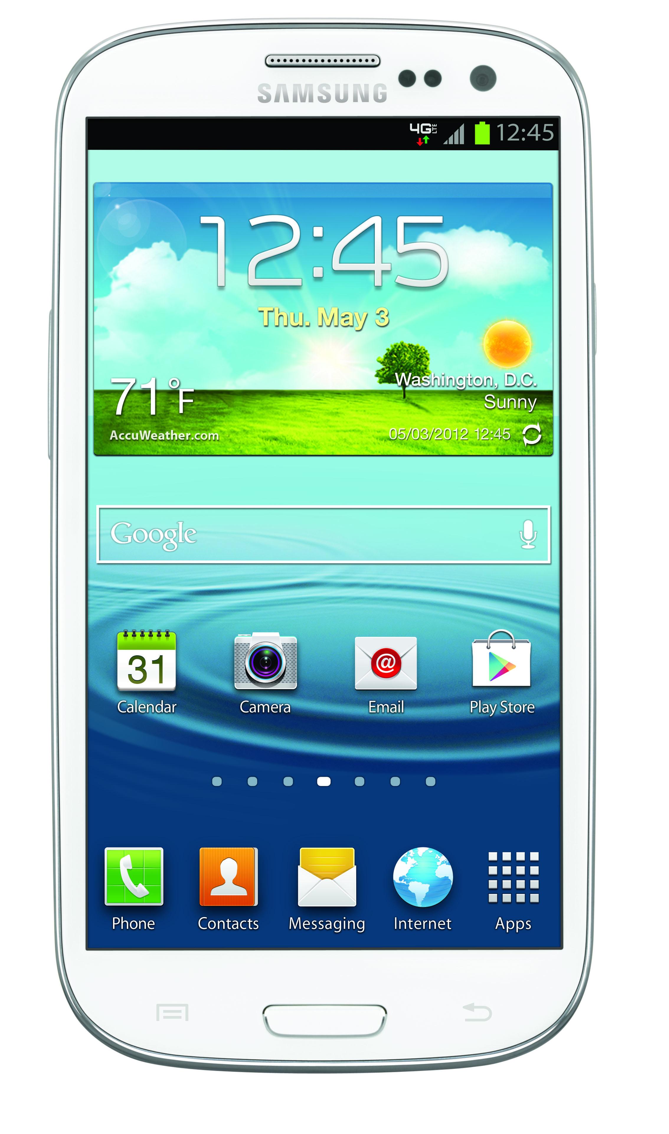 Samsung Galaxy S III Front