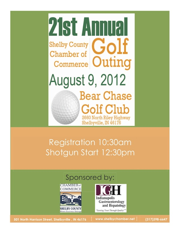 Golf Registration 2012 Chamber