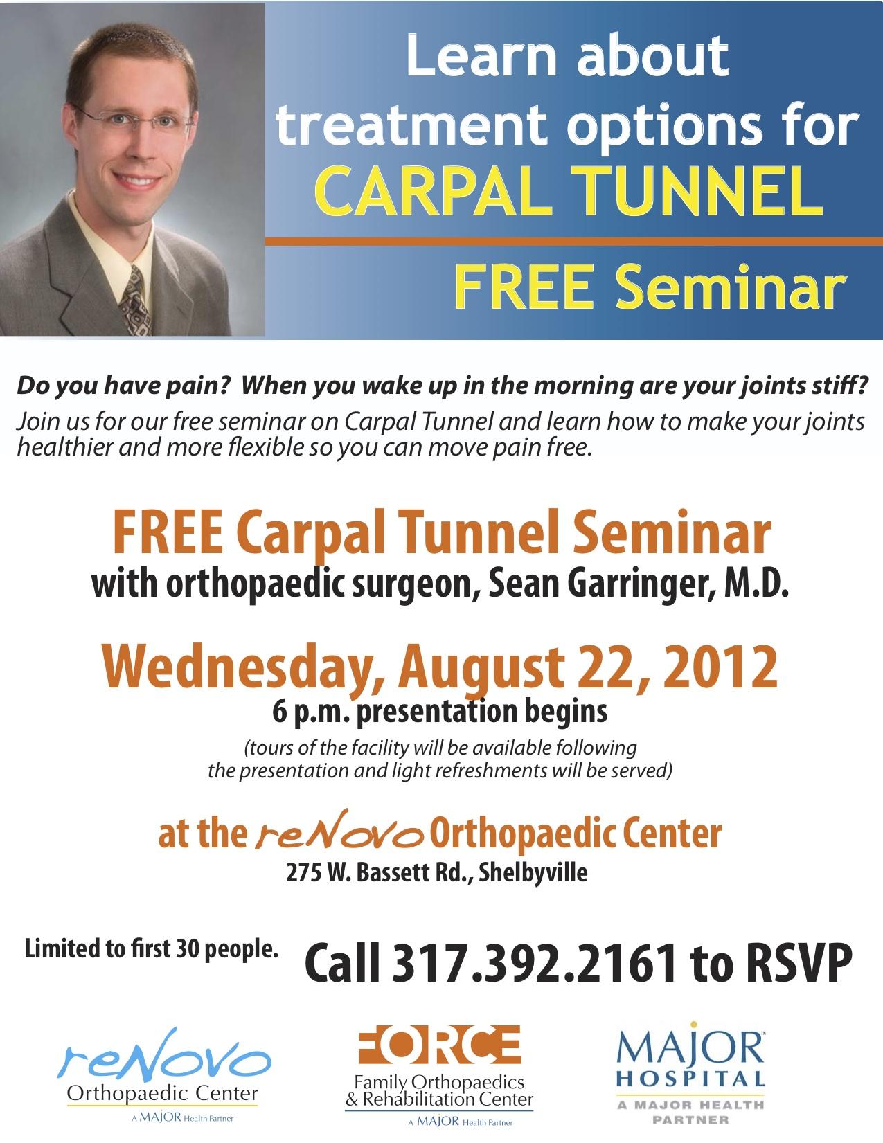 Dr. Garringer Seminar 8-12