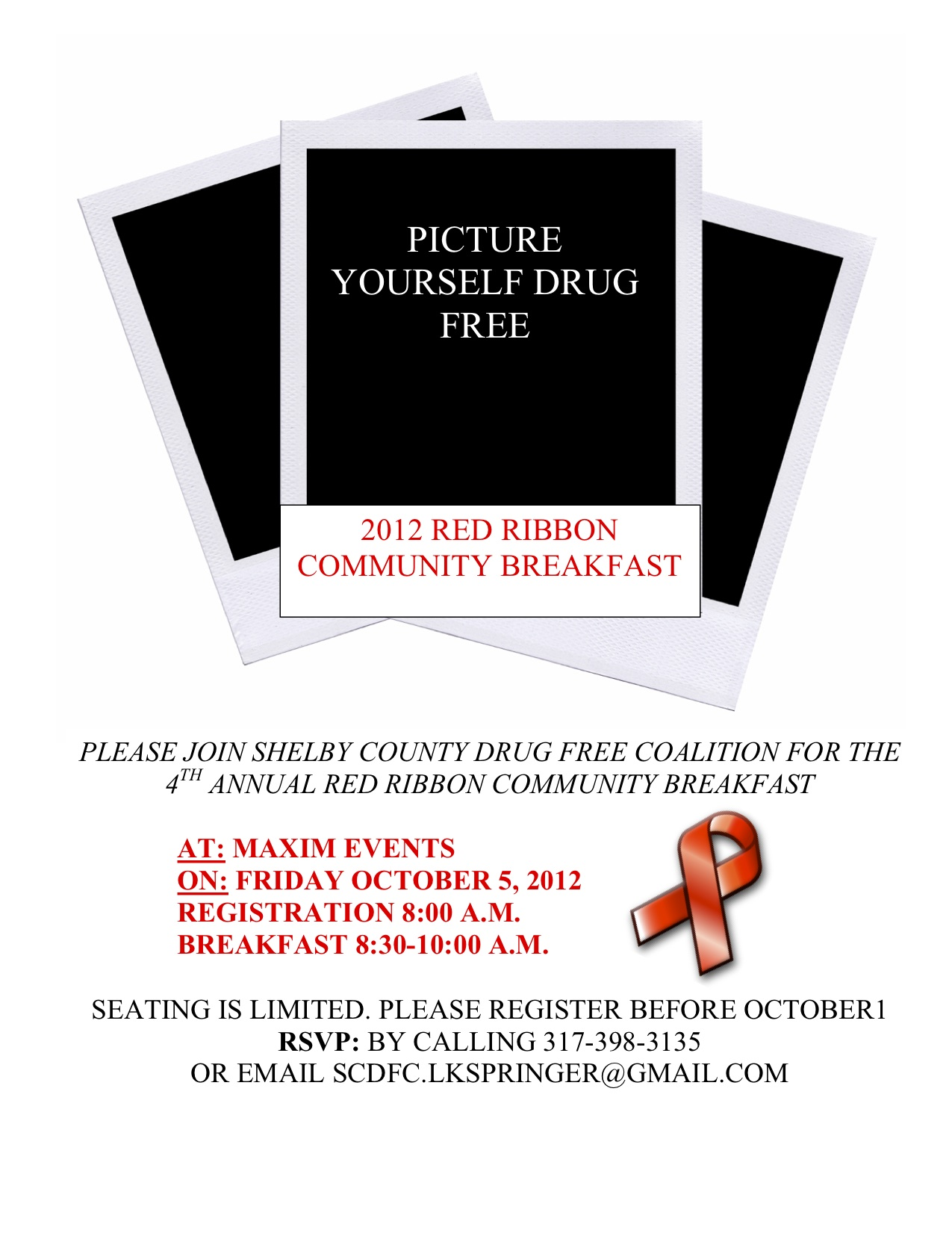Red Ribbon Breakfast 2012