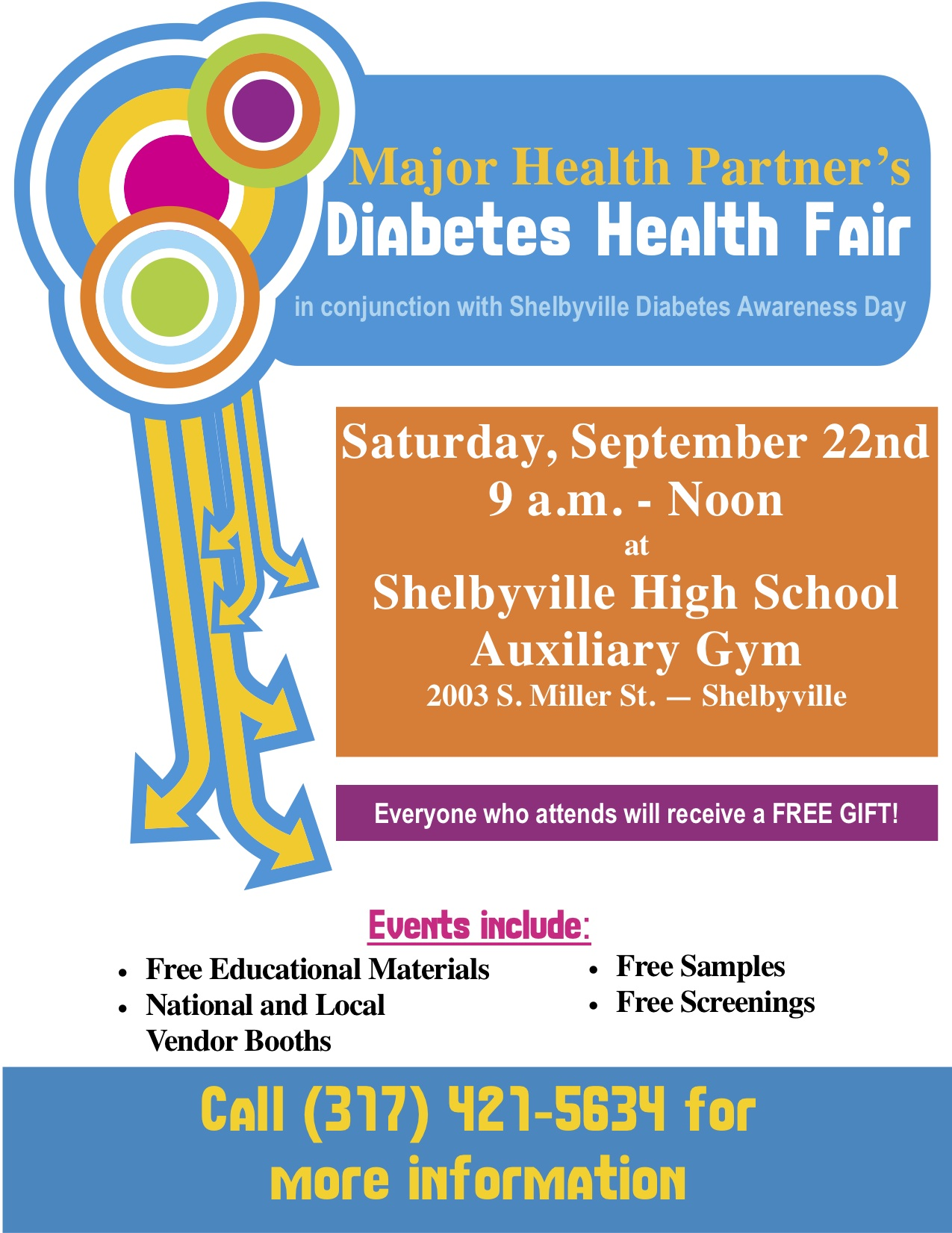 Diabetes Fair Flier 2012