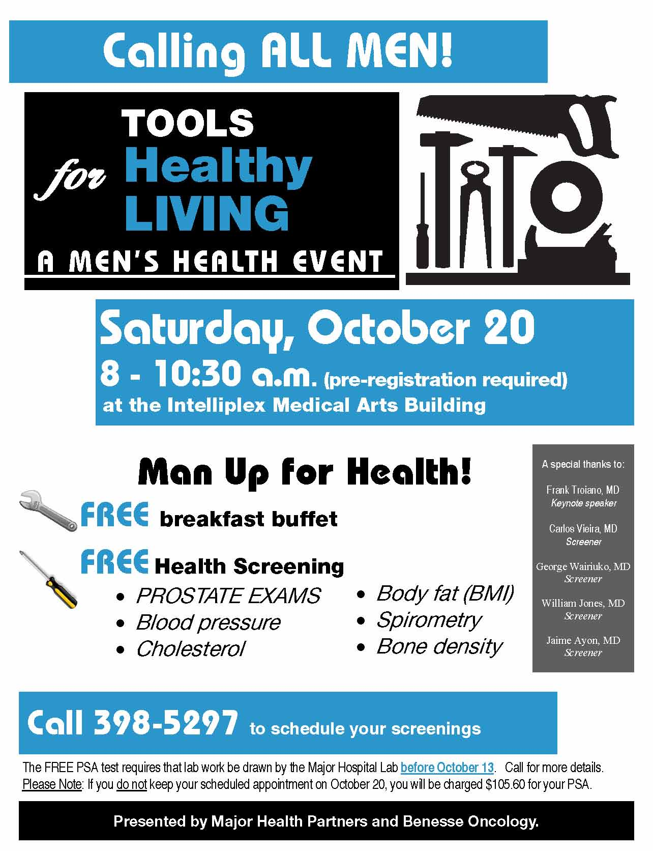 Mens Health Flier 2012
