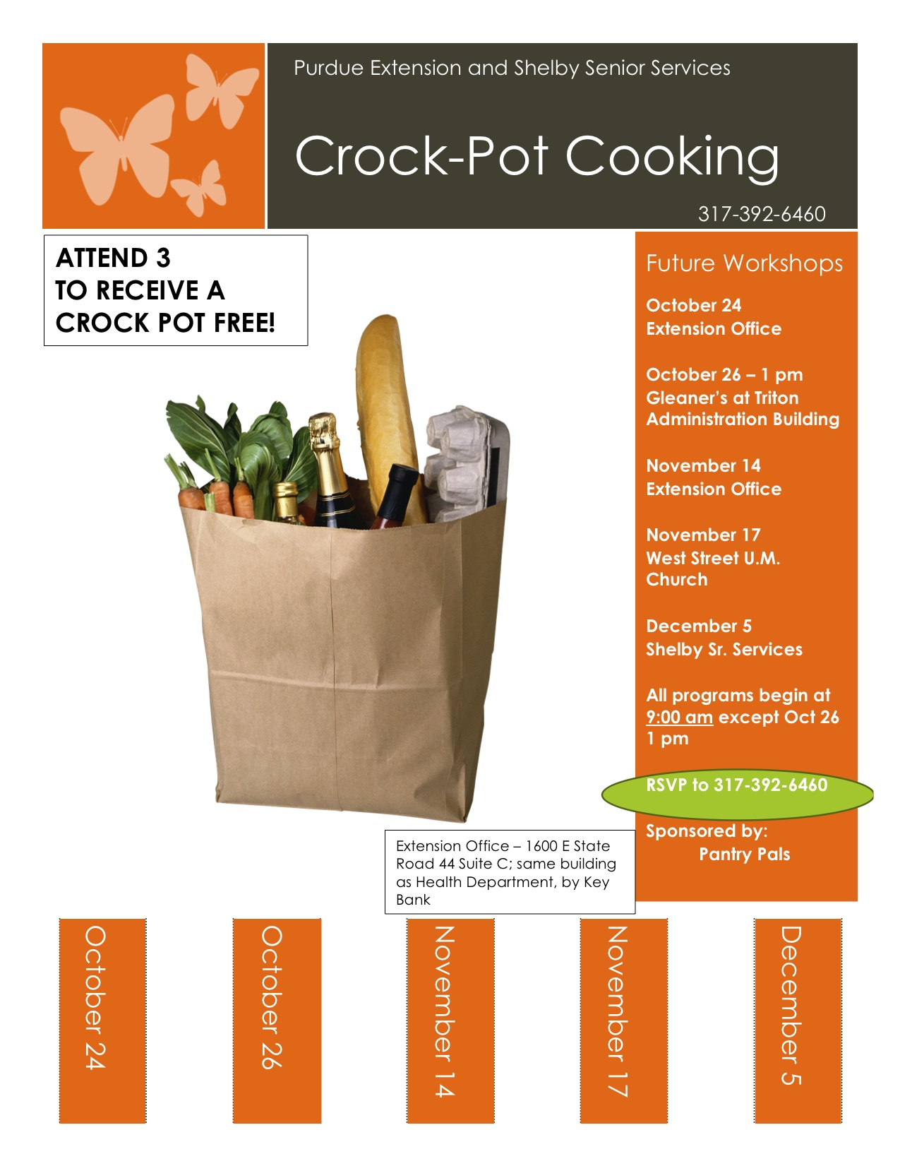 Oct.-Dec. flyer Crockpot Cooking 2012
