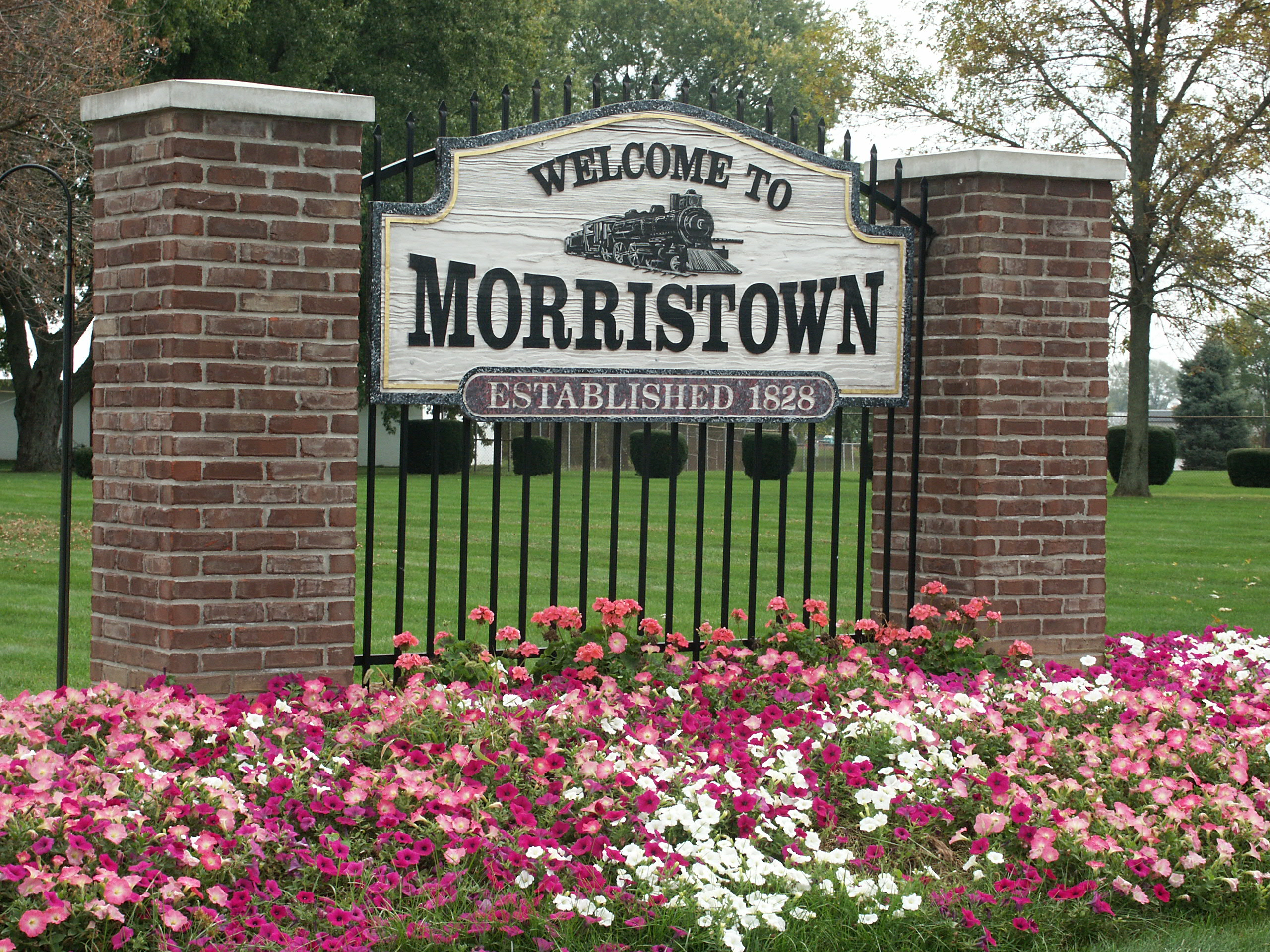 Morristown Indiana Sign