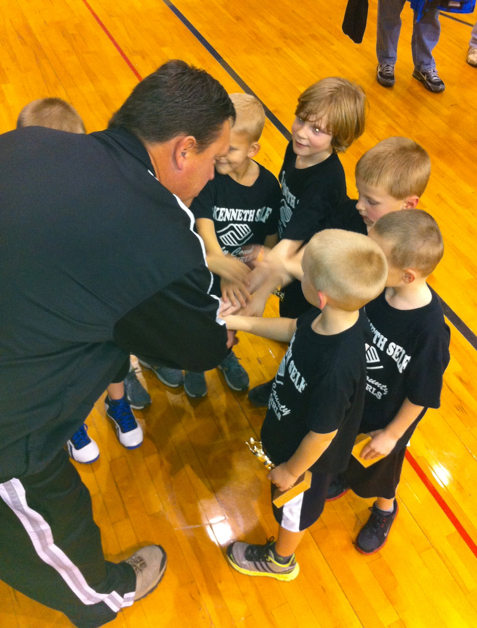 Shelbyville Boys Club 6 & Under Basketball Team 2012