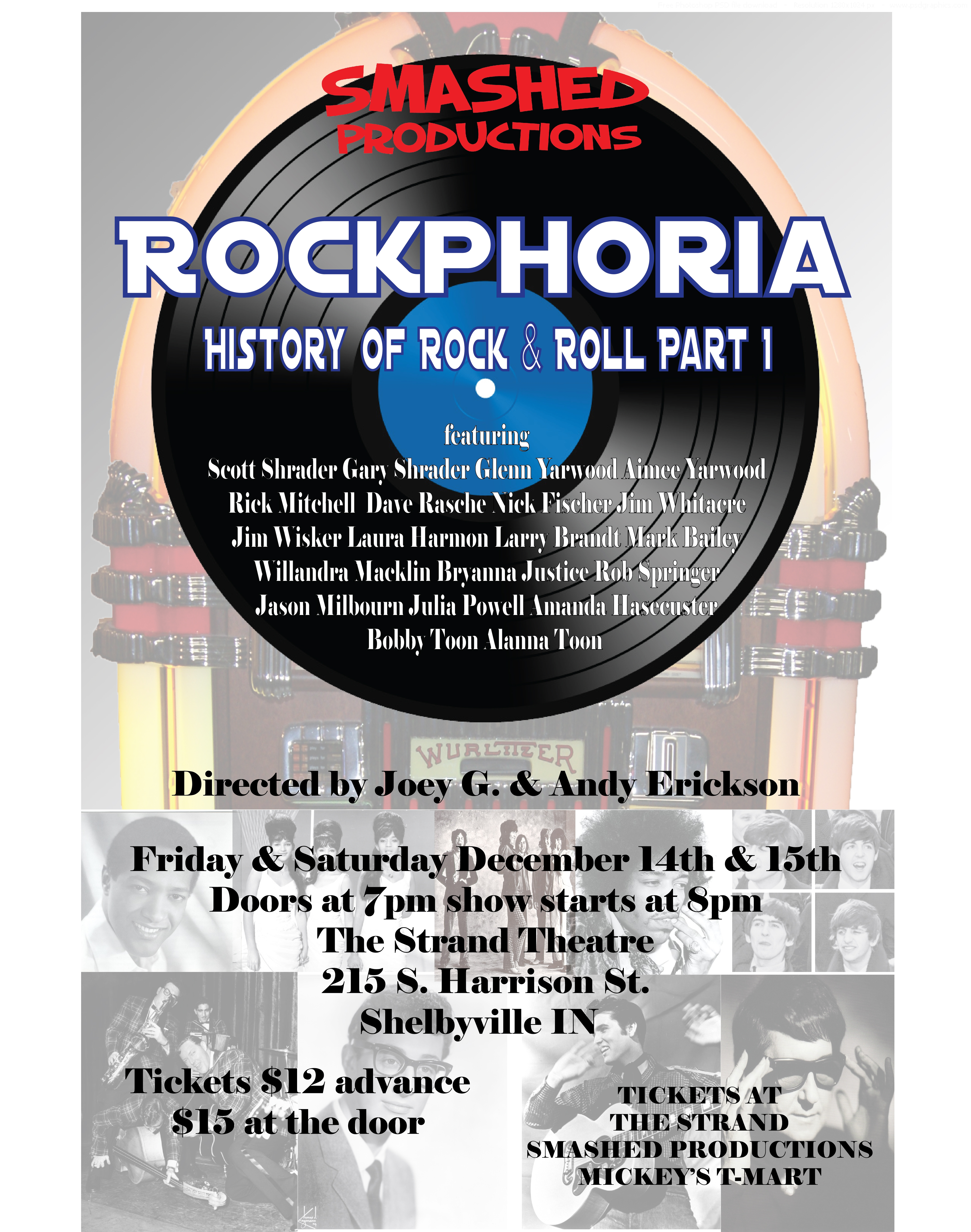 Rockphoria - History of Rock and Roll Part 1