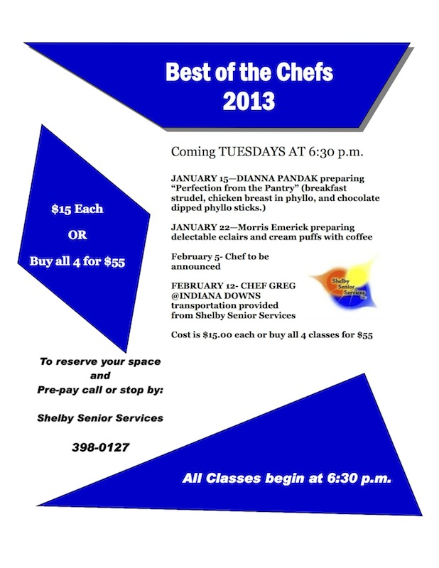 Best of the Chefs Flyer