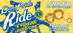 Lion Pride Ride @ Indiana National Guard Armory | Franklin | Indiana | United States