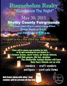 Illuminate the Night @ Shelby County Fairgrounds | Shelbyville | Indiana | United States