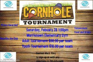 Cornhole Tournament in Morristown @ Morristown Elementary   Morristown   Minnesota   United States