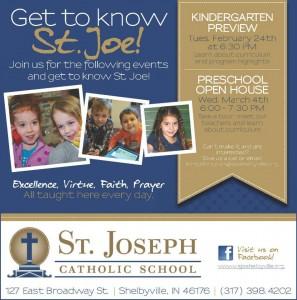 Preschool Open House at St. Joe @ St. Joseph Catholic School | Shelbyville | Indiana | United States
