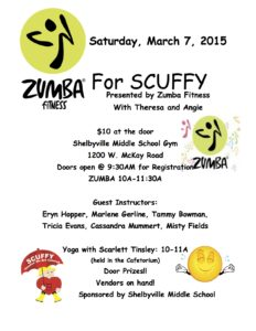 ZUMBA For SCUFFY @ Shelbyville Middle School | Shelbyville | Indiana | United States