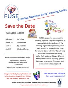 FUSE Learning Series @ Shelby County Public Library | Shelbyville | Indiana | United States