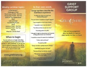 GriefShare @ Crossroad Community Church | Shelbyville | Indiana | United States