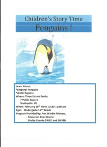Children's Story Time - Penguin's @ Three Sisters Books | Shelbyville | Indiana | United States