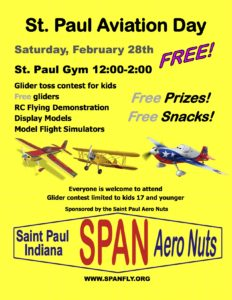 St. Paul Aviation Day @ St. Paul Gym | Saint Paul | Indiana | United States