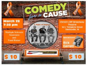 Comedy for a Cause - MS Awareness @ Christi's Off Broadway | Shelbyville | Indiana | United States