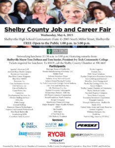 Job and Career Fair - FREE and Open to the Public @ Shelbyville High School Garrett Gymnasium