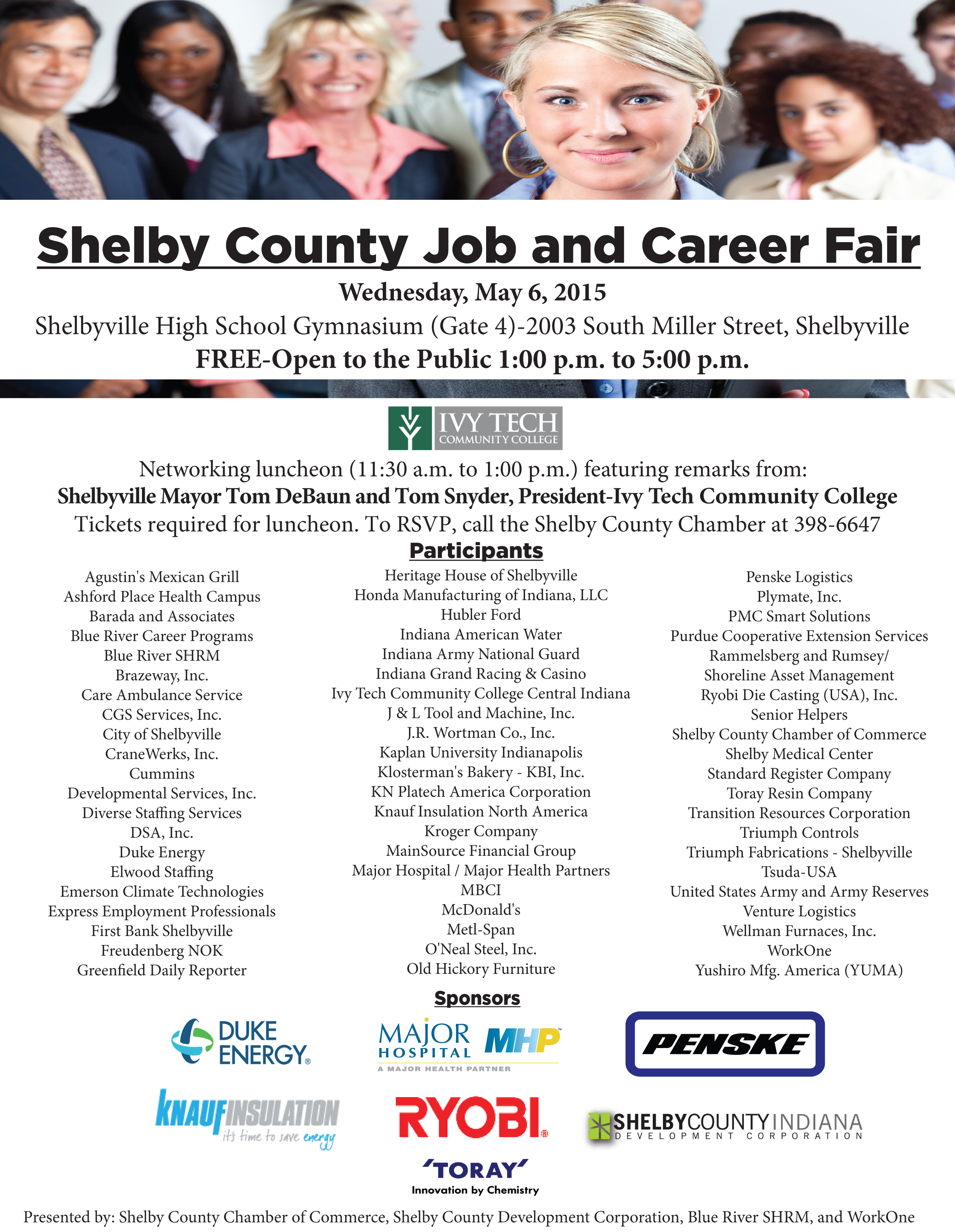 Job and Career Fair – FREE and Open to the Public