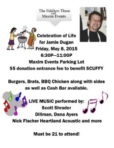 Celebration of Life For Jamie Dugan @ Maxim Events