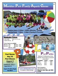 Shelbyville Pool Opens @ Meridian Park Family Aquatic Center | Shelbyville | Indiana | United States