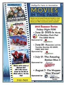 Movies in the Park @ Morrison Park | Shelbyville | Indiana | United States