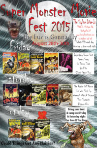 Super Monster Movie Fest @ The Skyline Drive-In