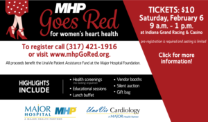 Go Red for Women @ Indiana Grand Racing & Casino