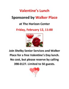 Valentine's Lunch @ Horizon Center