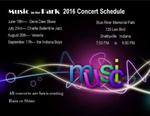 Music in the Park 2016 @ Blue River Memorial Park